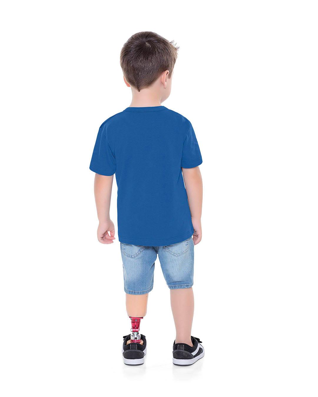 Camiseta Infantil Homem Aranha - Fakini