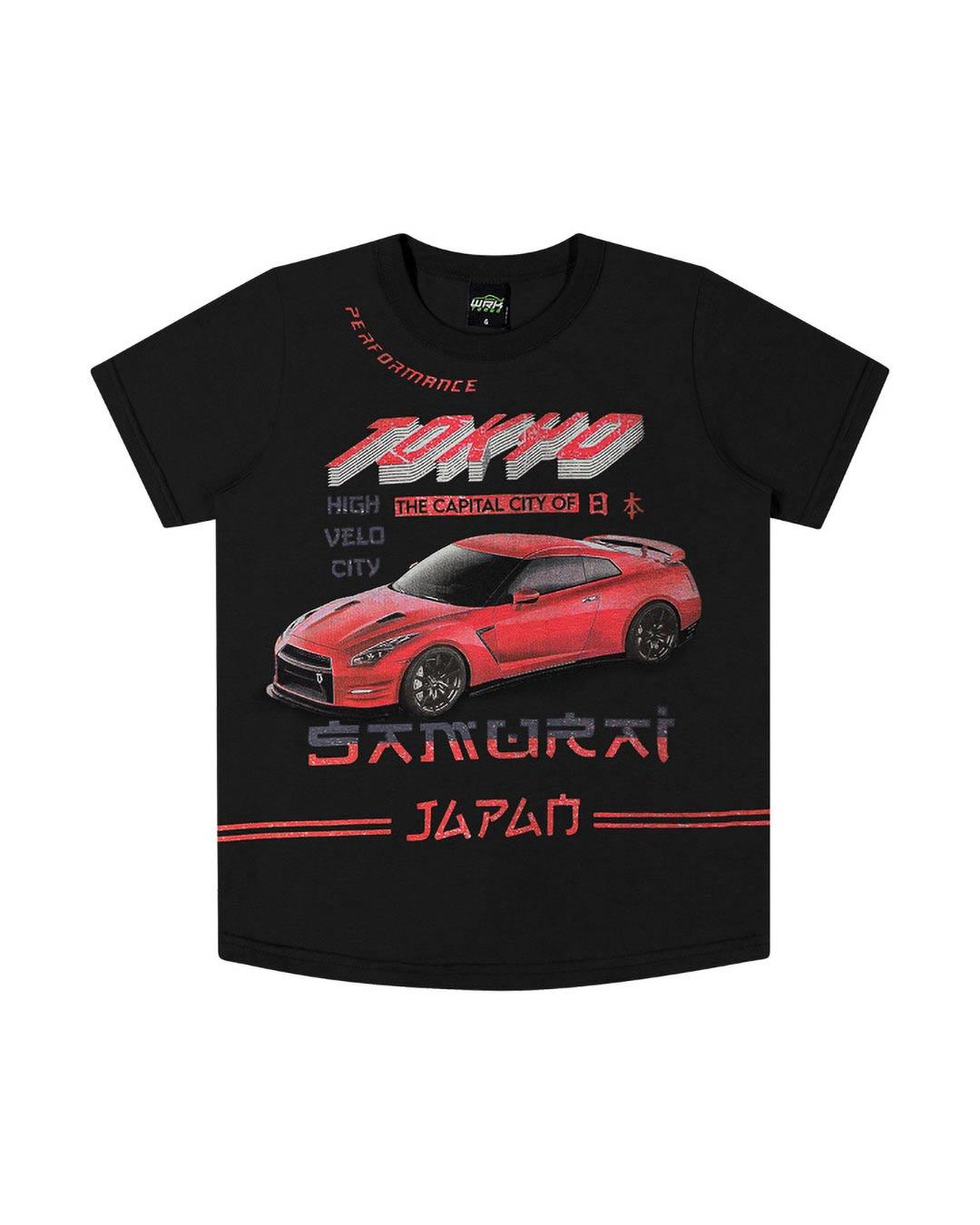 Camiseta Infantil Tokyo Samurai - WRK