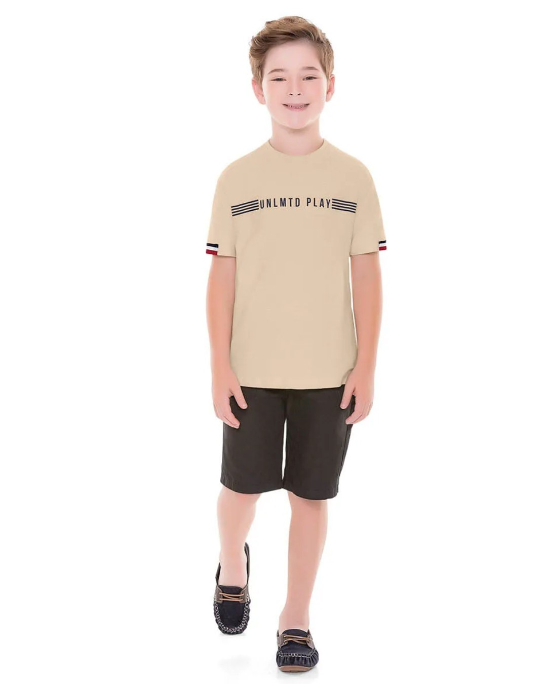 Camiseta Infantil Unlmtd Play - Playground
