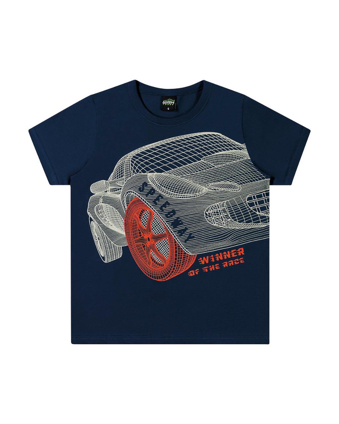 Camiseta Infantil Winner Of The Race - WRK