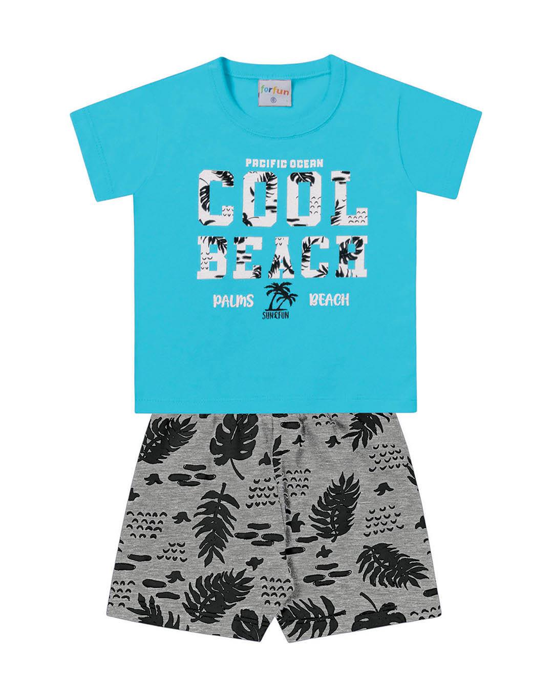 Conjunto Bebê Cool Beach - For Fun