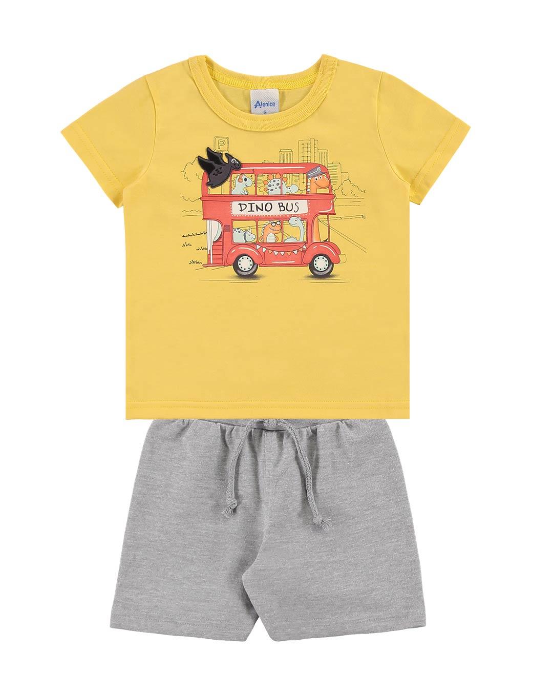 Conjunto Bebê Dino Bus - Alenice