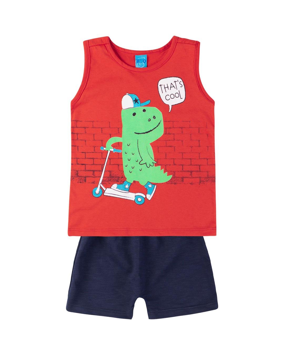 Conjunto Bebê Dino That's Cool - Lecimar