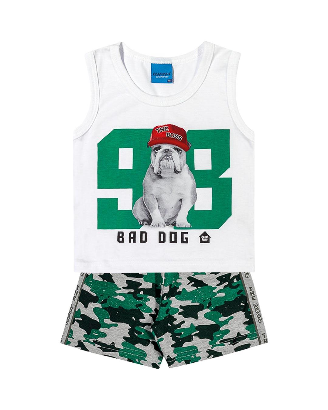 Conjunto Infantil Bad Dog - WRK
