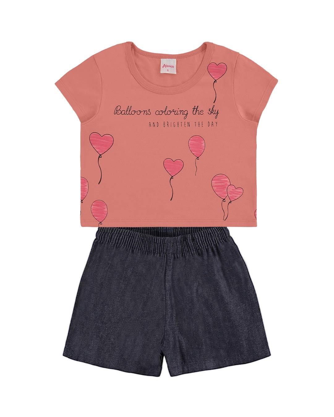 Conjunto Infantil Balões - Alenice