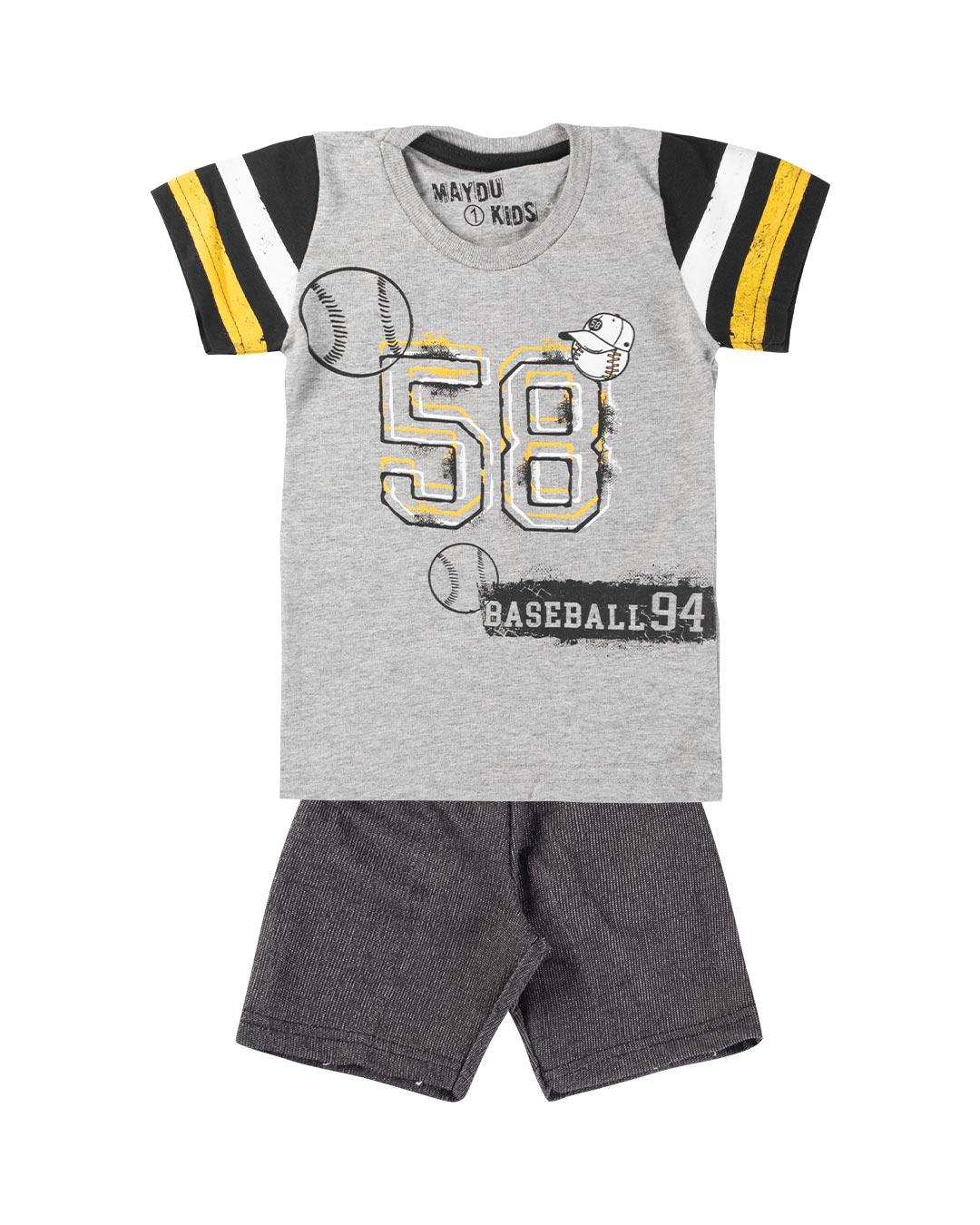 Conjunto Infantil Baseball 94 - Maydu Kids