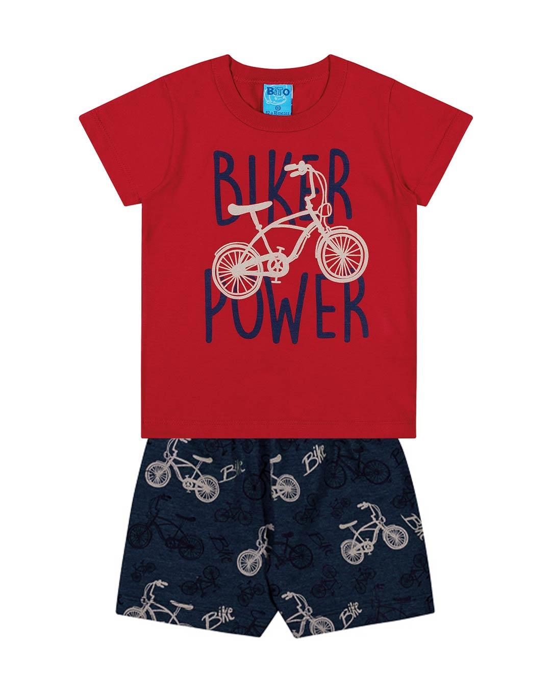Conjunto Infantil Biker - Lecimar