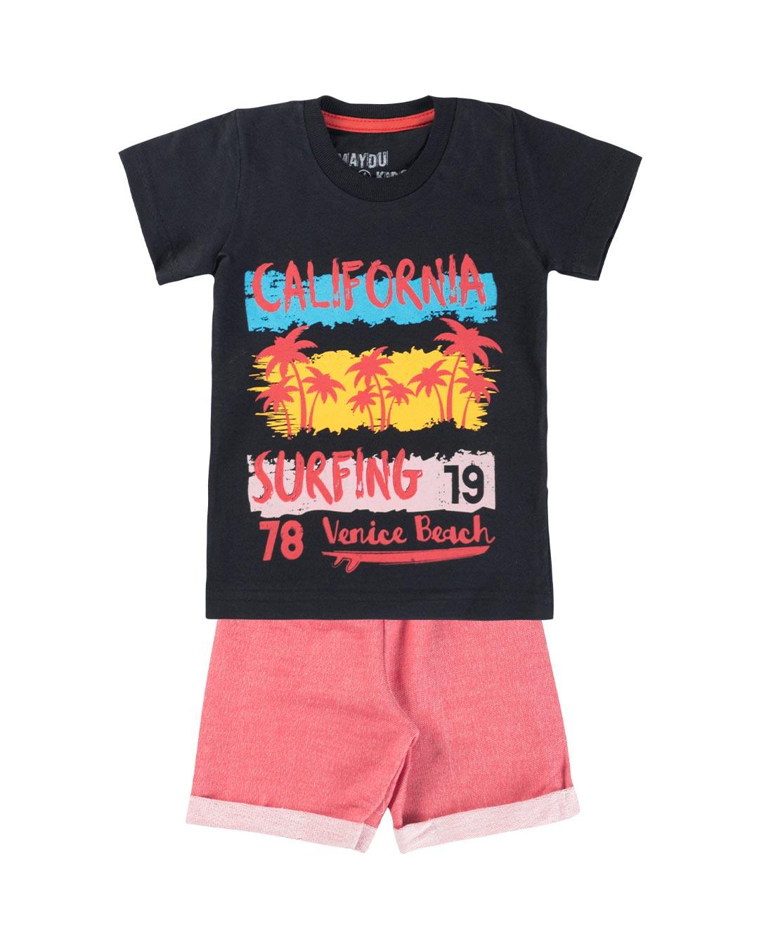 Conjunto Infantil Califórnia Surfing - Maydu kids