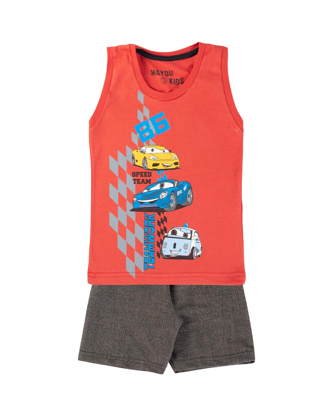 Conjunto Infantil Car 86 - Maydu Kids