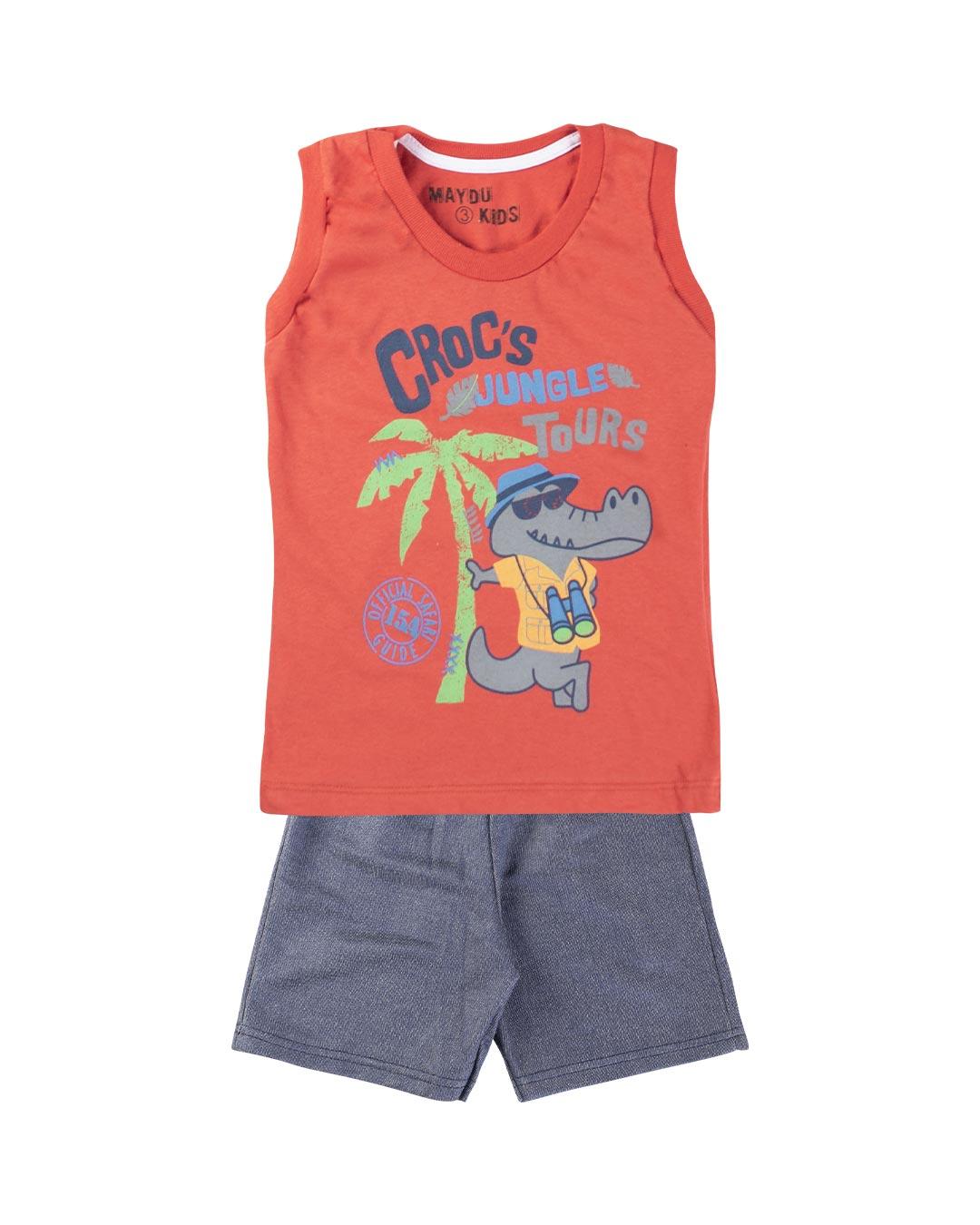 Conjunto Infantil Croc's Jungle Tours - Maydu Kids