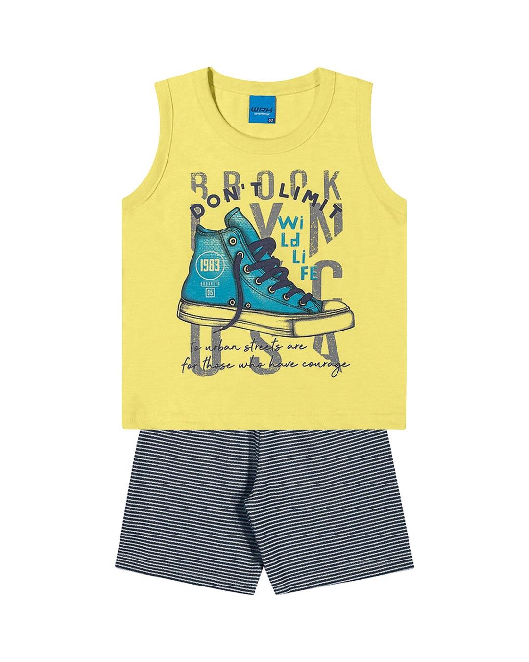 Conjunto Infantil Don't Limit - WRK