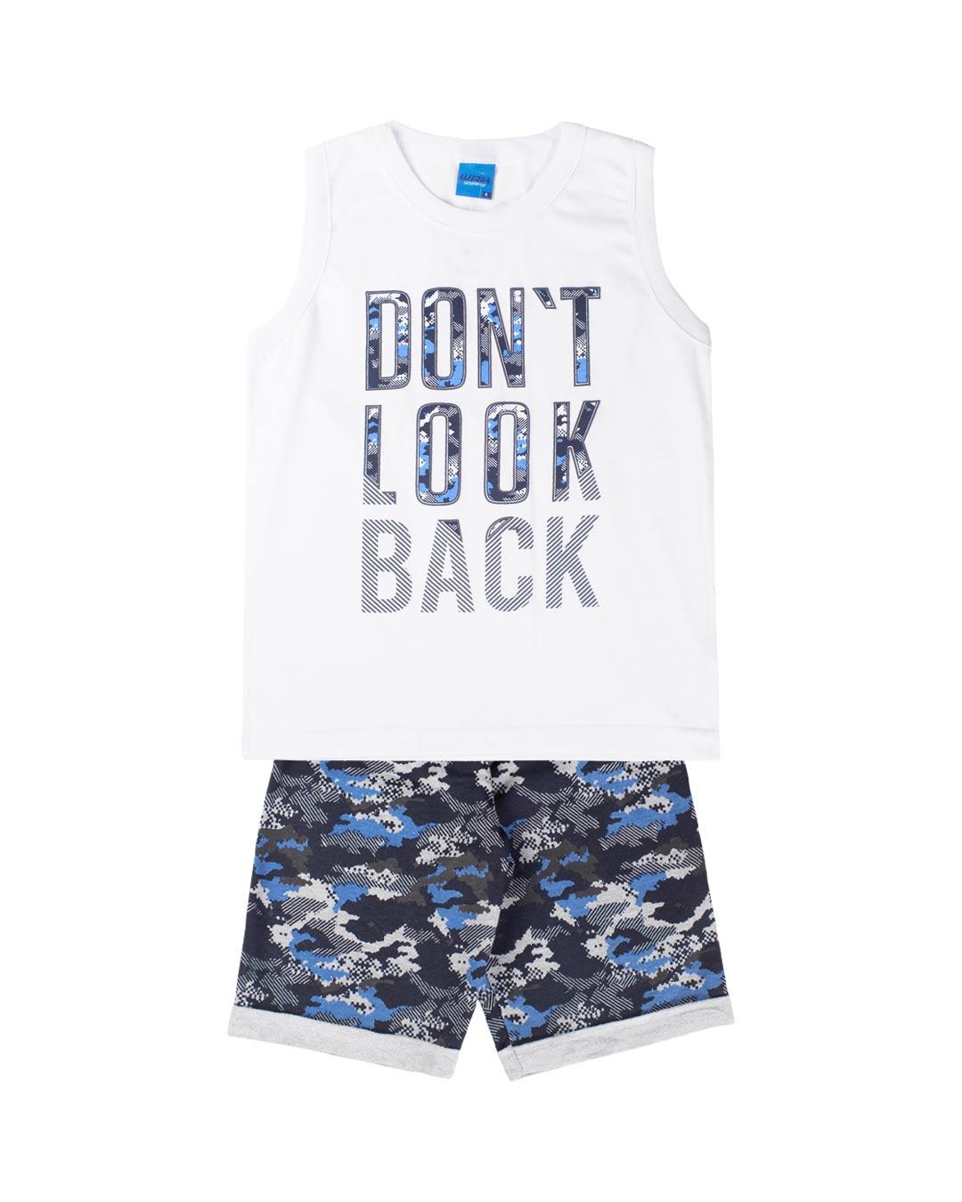 Conjunto Infantil Dont Look Back - WRK
