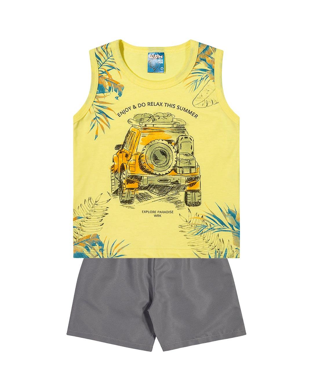 Conjunto Infantil Enjoy & Do Relax This Summer - WRK