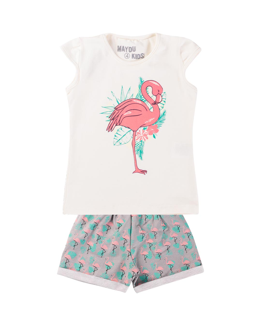 Conjunto Infantil Flamingo - Maydu Kids