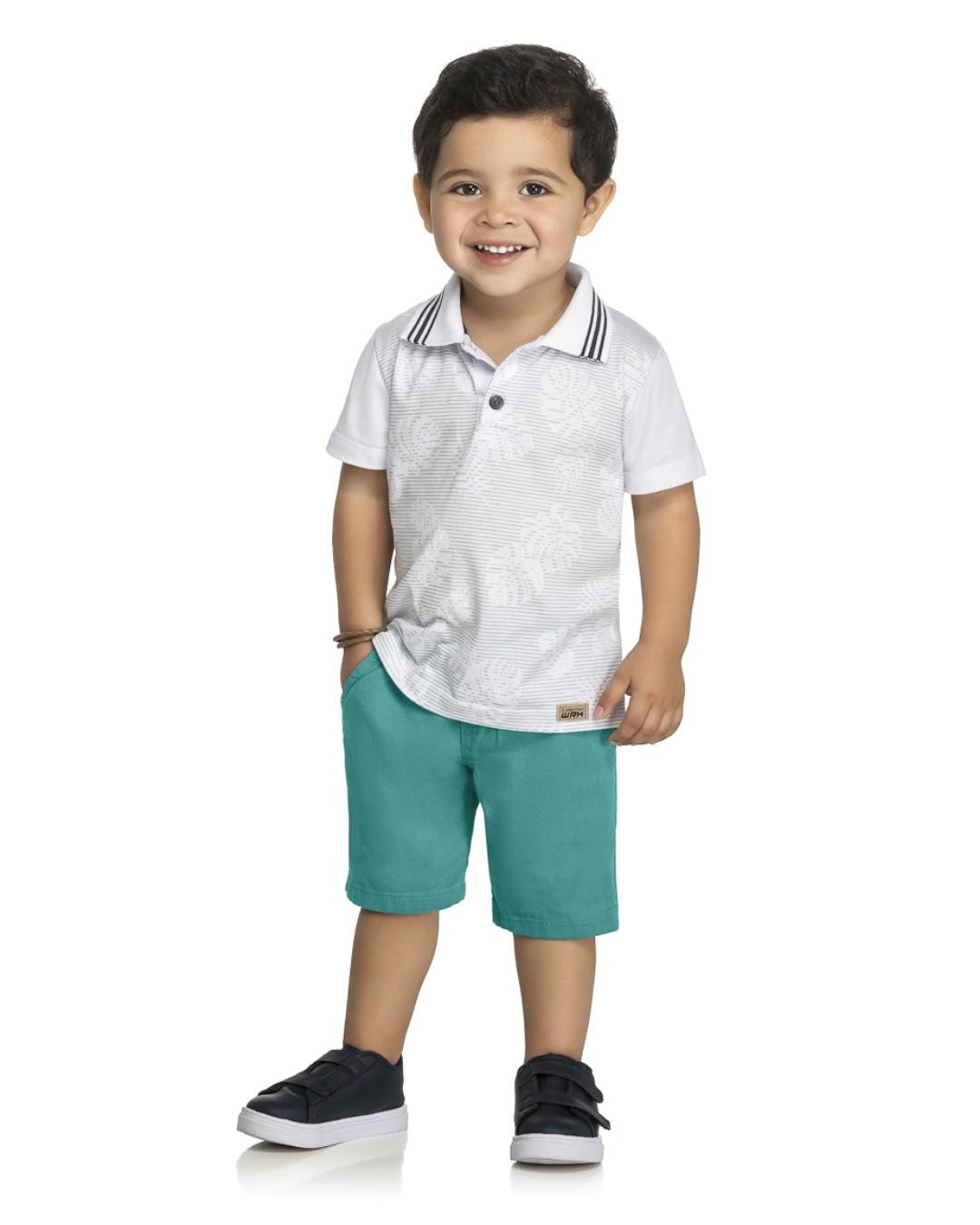 Conjunto Infantil Folhas  - WRK