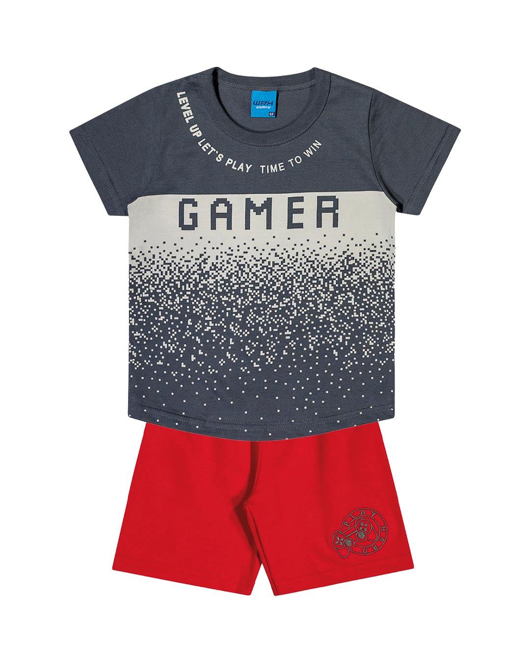 Conjunto Infantil Gamer - WRK