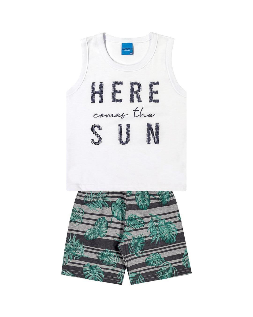 Conjunto Infantil Here Comes The Sun - WRK