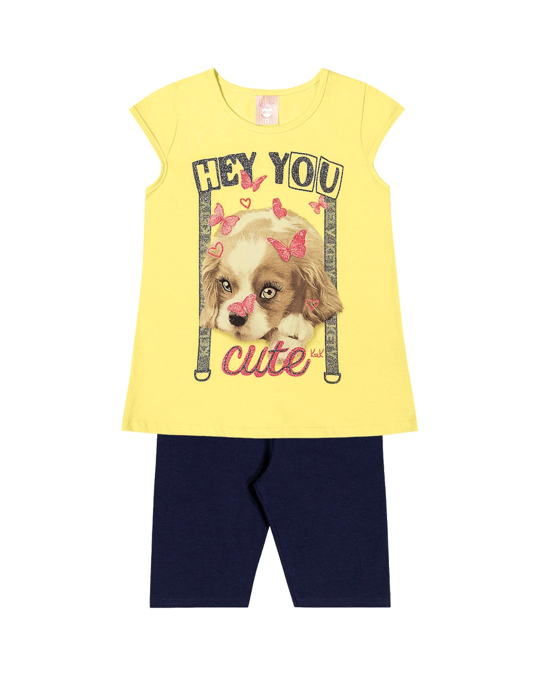 Conjunto Infantil Hey You Cute - Kely & Kety