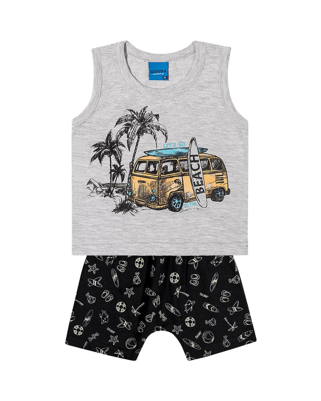 Conjunto Infantil Let's Go Beach - WRK
