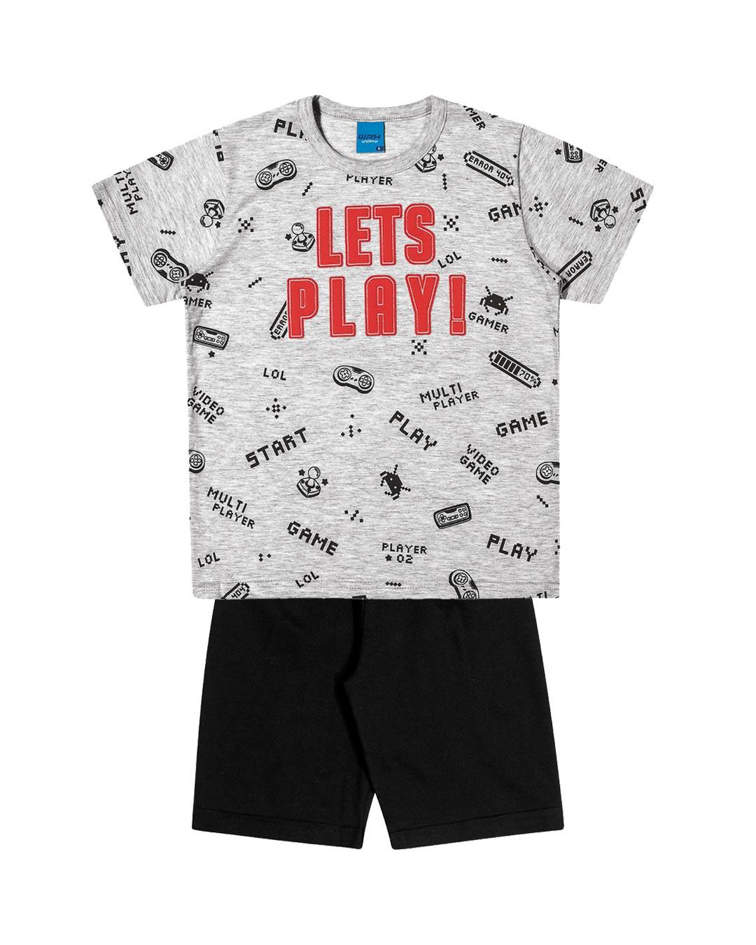Conjunto Infantil Let's Play - WRK