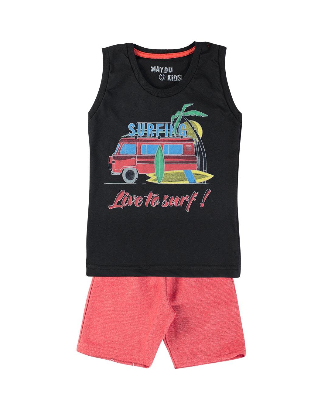 Conjunto Infantil Live To Surf - Maydu Kids