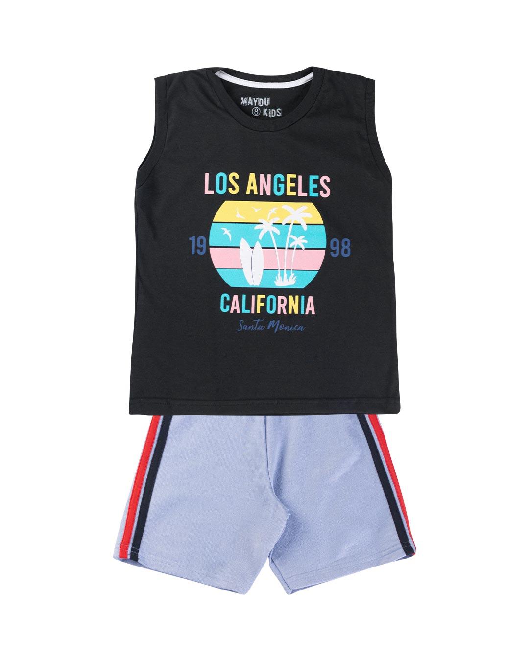 Conjunto Infantil Los Angeles Califórnia - Maydu Kids