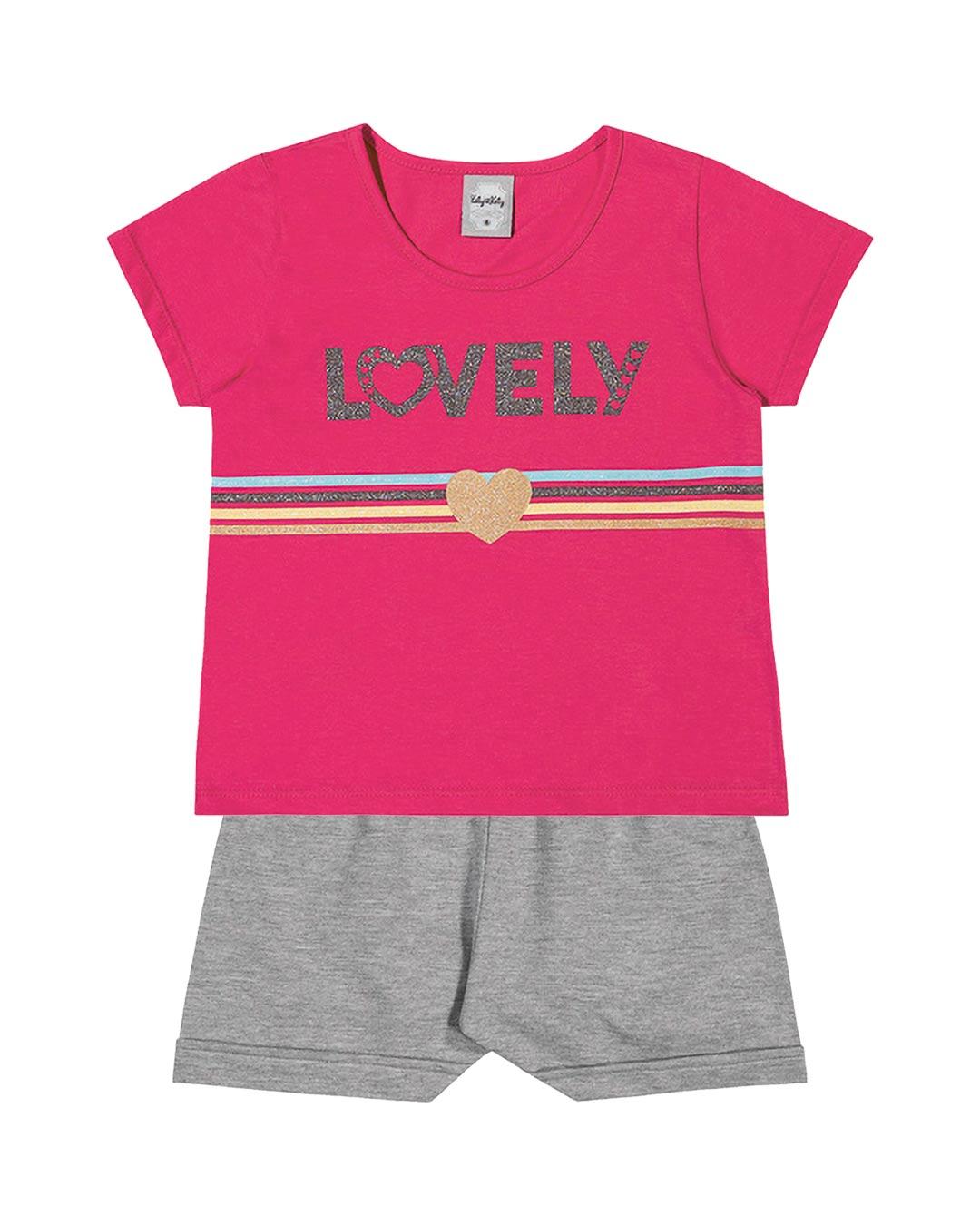Conjunto Infantil Lovely - Kely & Kety
