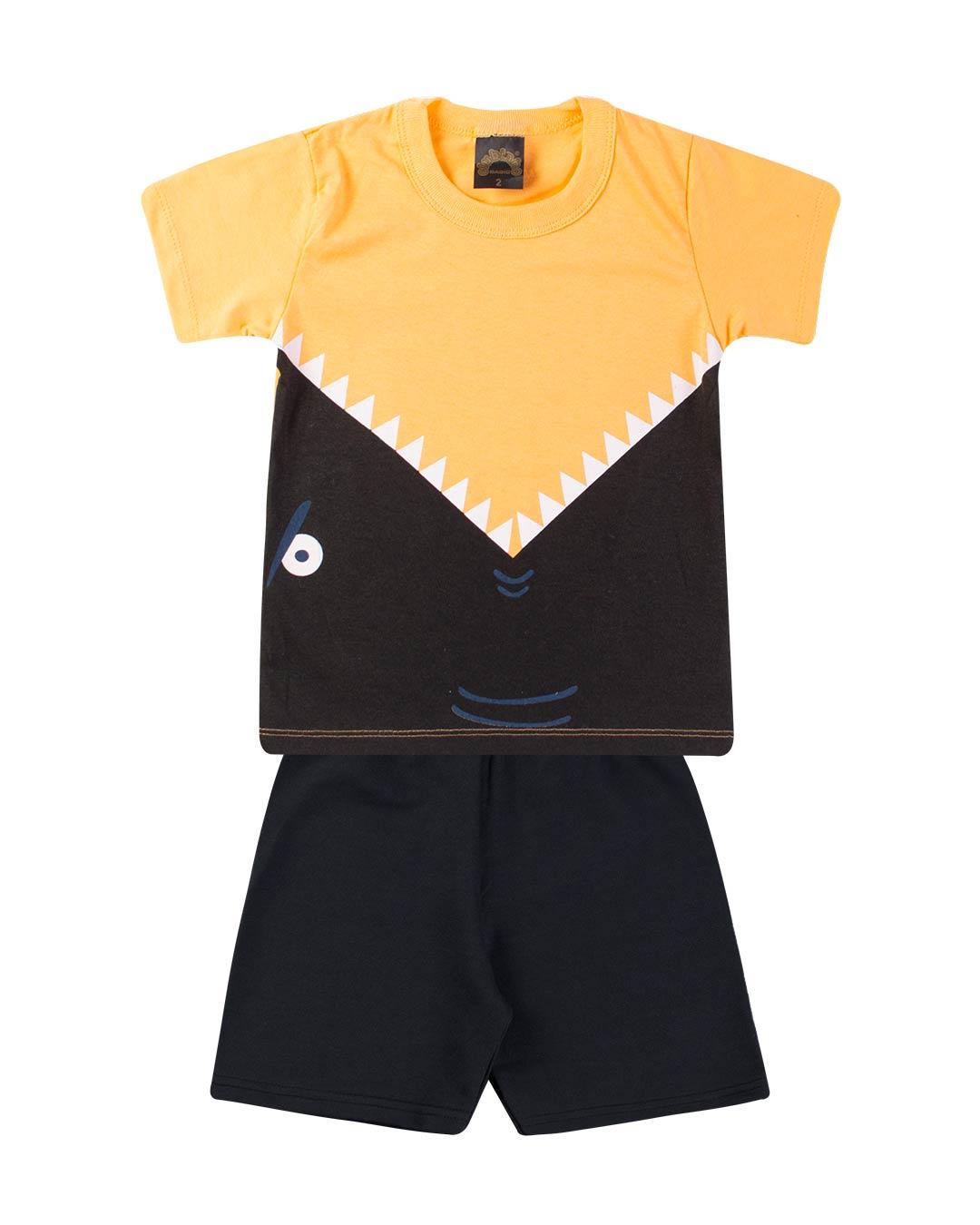 Conjunto Infantil Masculino Tubarão - Clubinho
