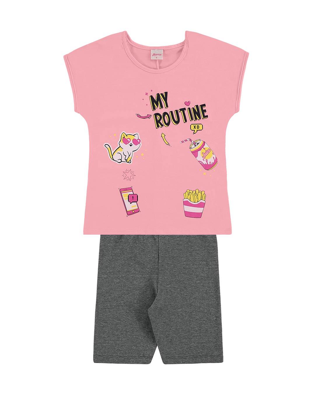 Conjunto Infantil My Routine - Alenice