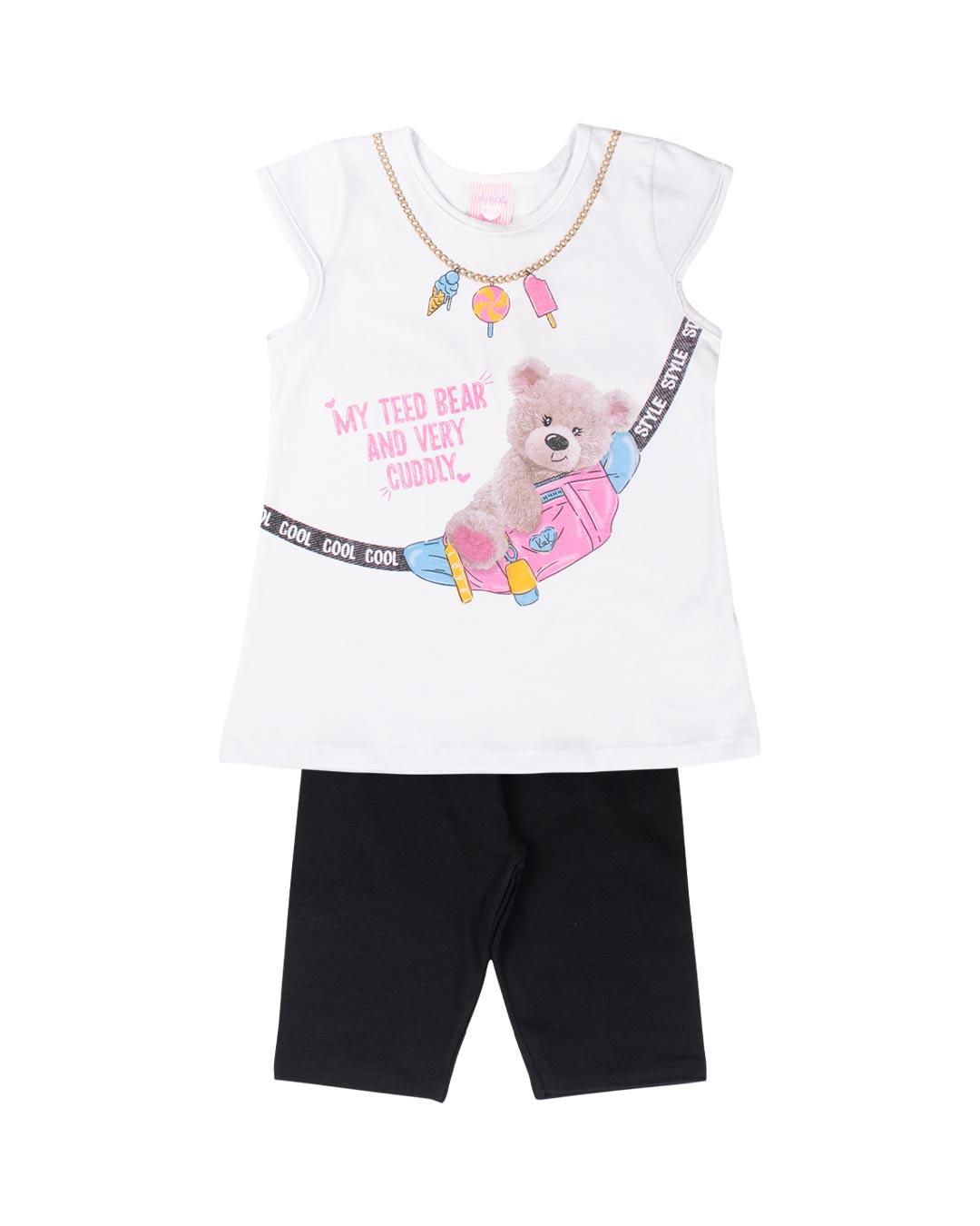 Conjunto Infantil My Ted Bear - Kely & Kety