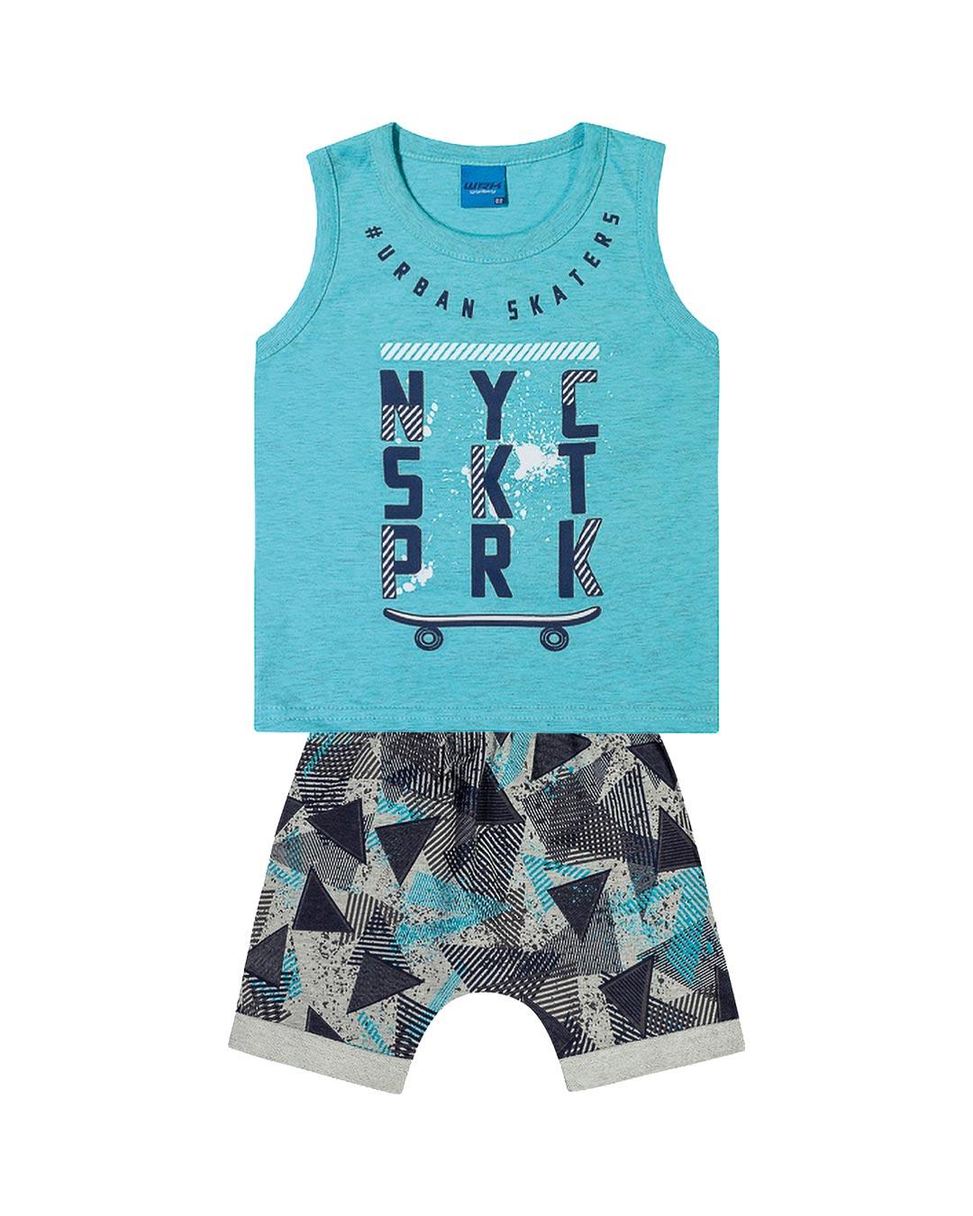 Conjunto Infantil NYC SKT PRK - WRK