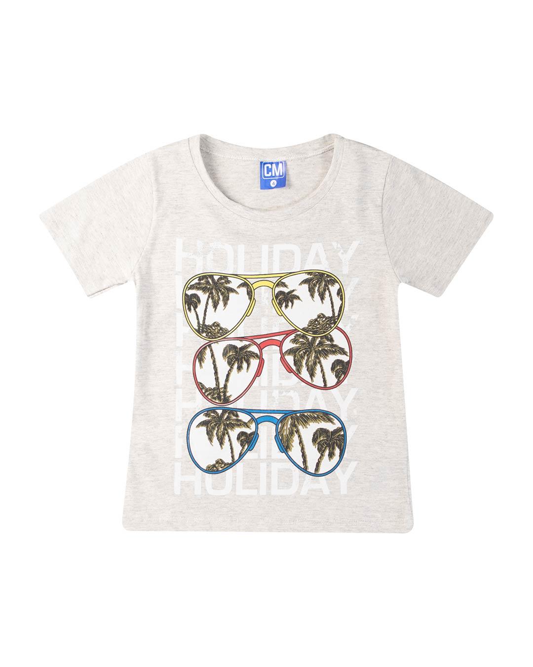 Conjunto Infantil Óculos Cinza - Cara Metade