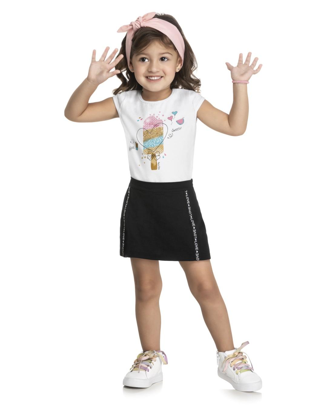 Conjunto Infantil Picolé - Kely & Kety