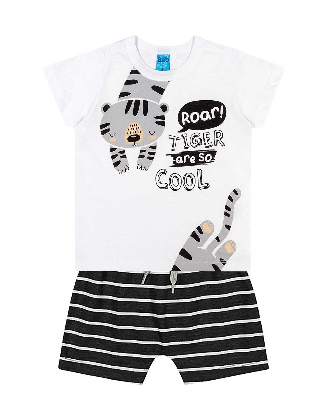 Conjunto Infantil Roar Tiger - Lecimar
