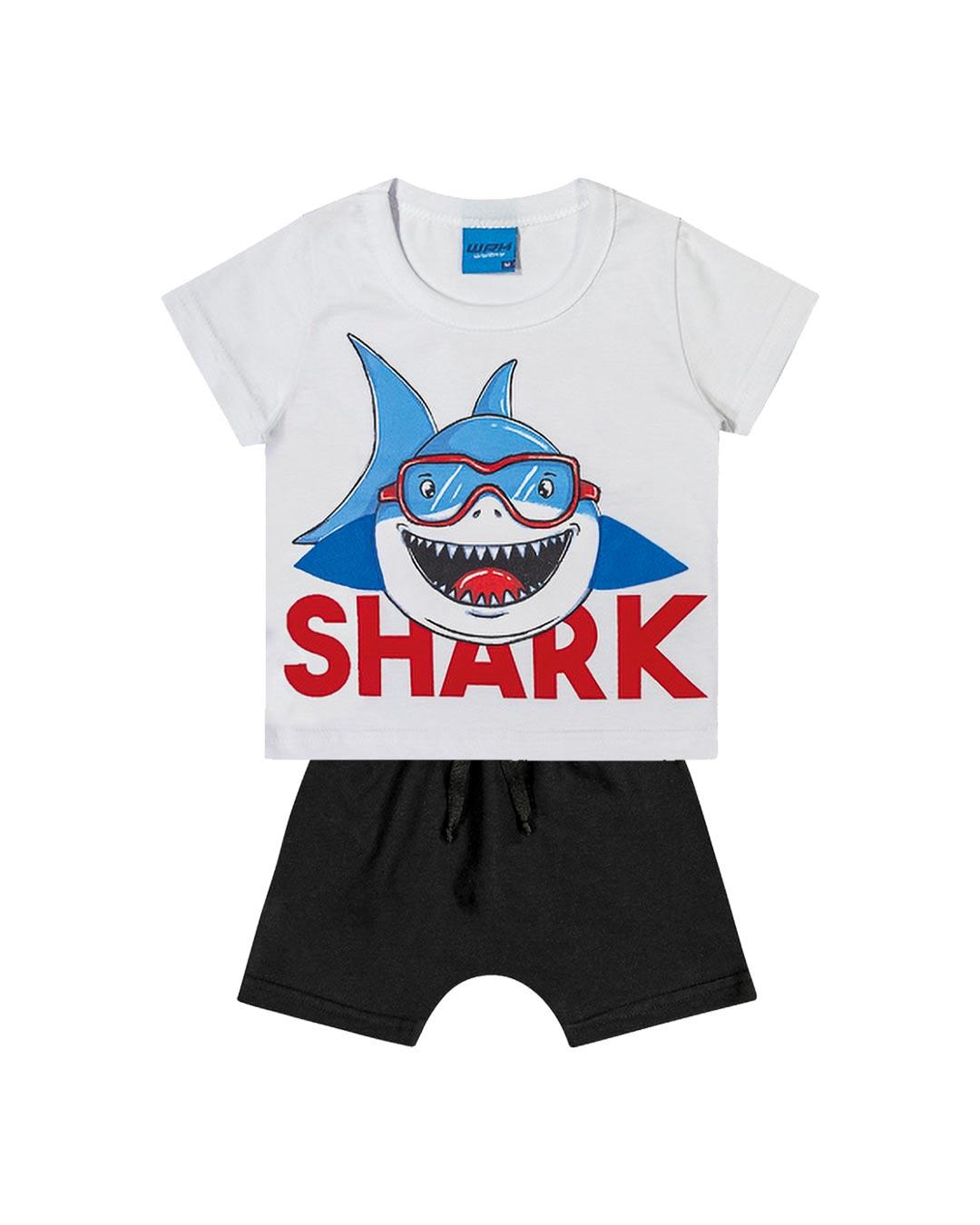 Conjunto Infantil Shark - WRK