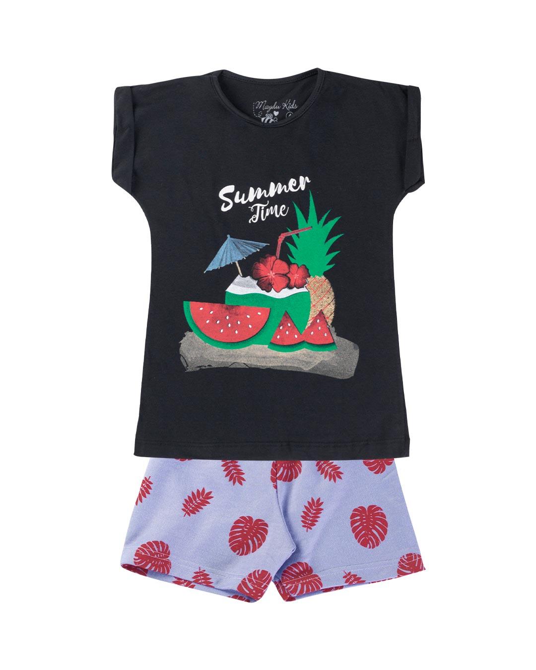 Conjunto Infantil Summer Time - Maydu Kids