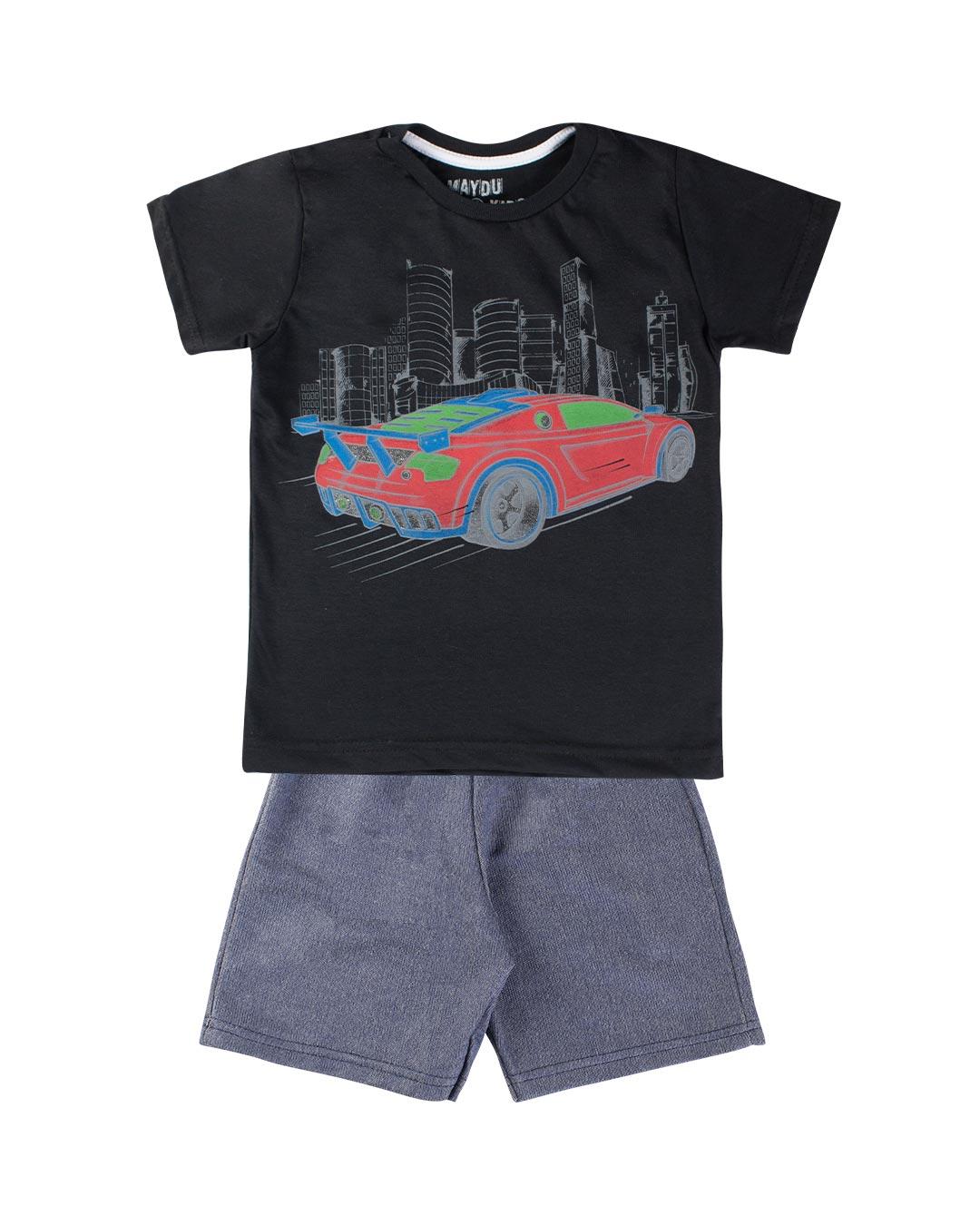 Conjunto Infantil Supercar - Maydu Kids