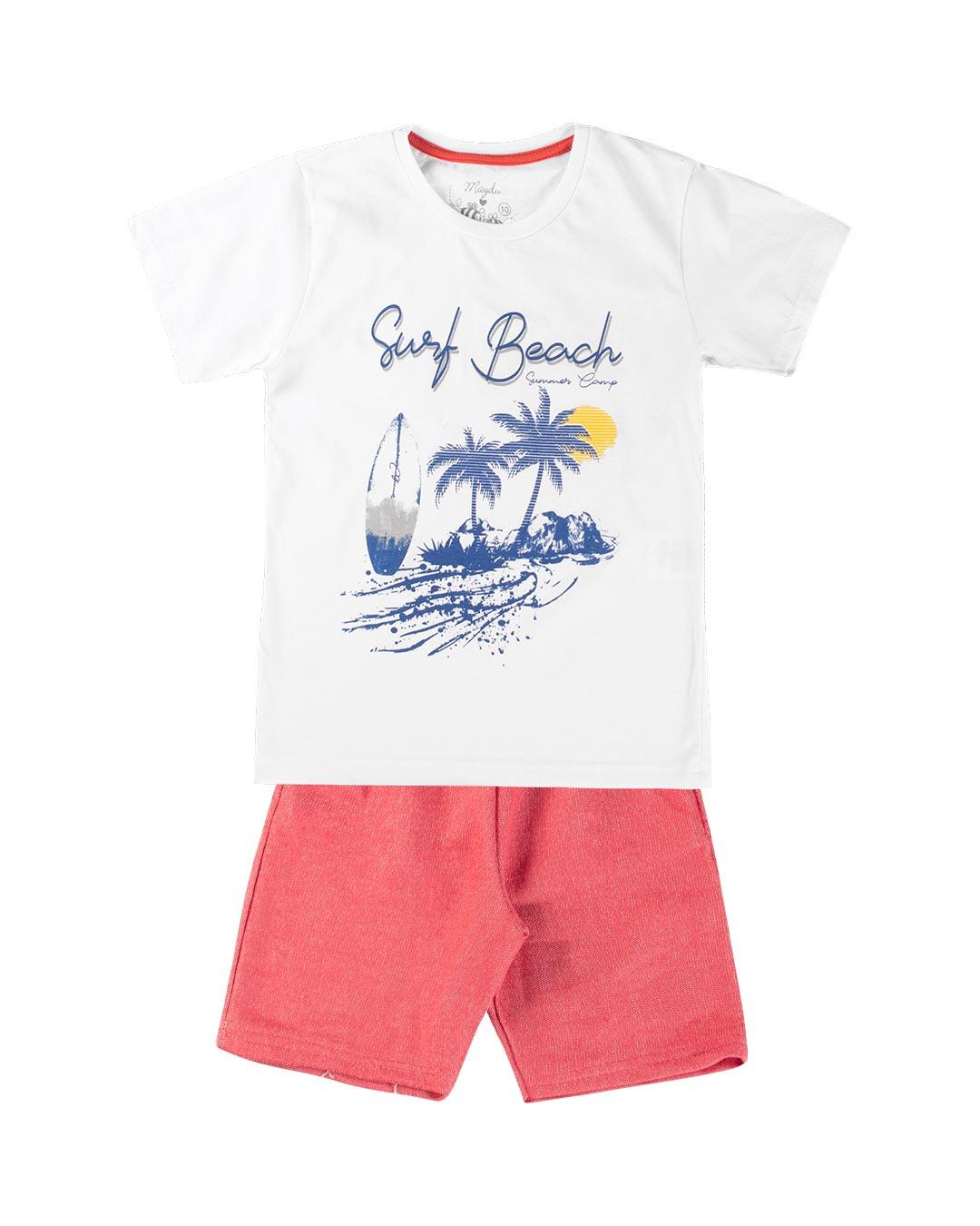 Conjunto Infantil Surf Beach - Maydu Kids