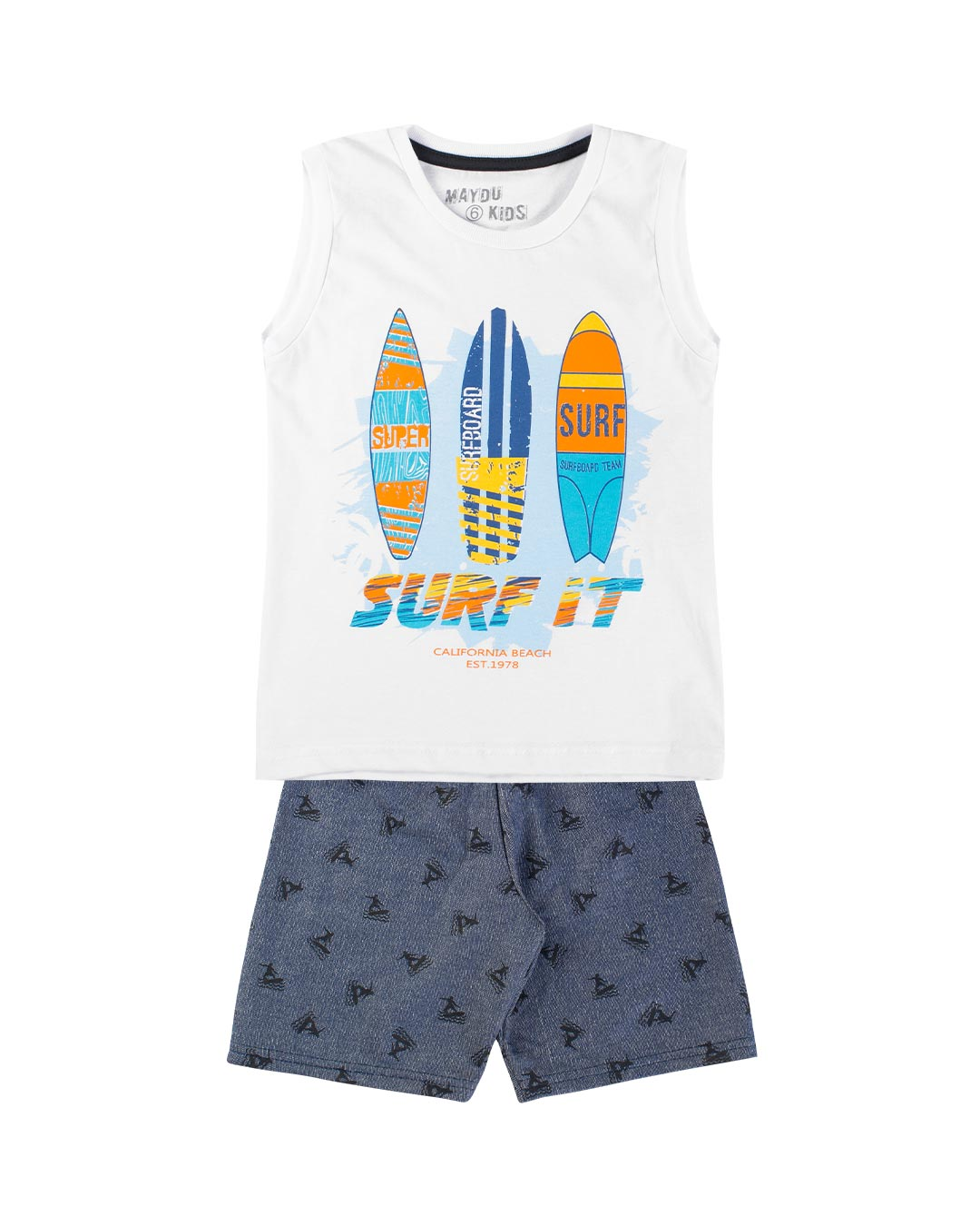Conjunto Infantil Surf It - Maydu Kids