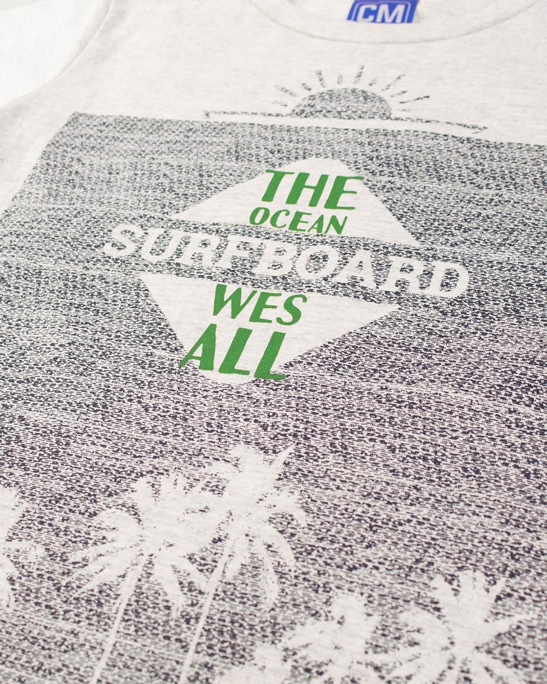 Conjunto Infantil Surfboard Cinza - Cara Metade