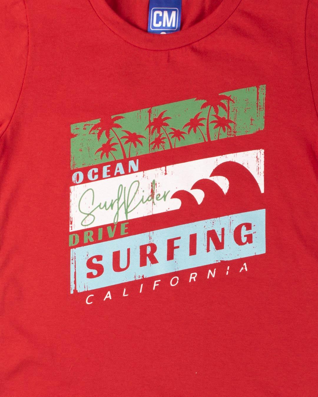 Conjunto Infantil Surfing California - Cara Metade