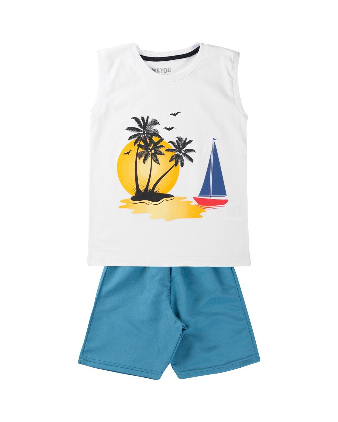Conjunto Infantil Tropical - Maydu Kids