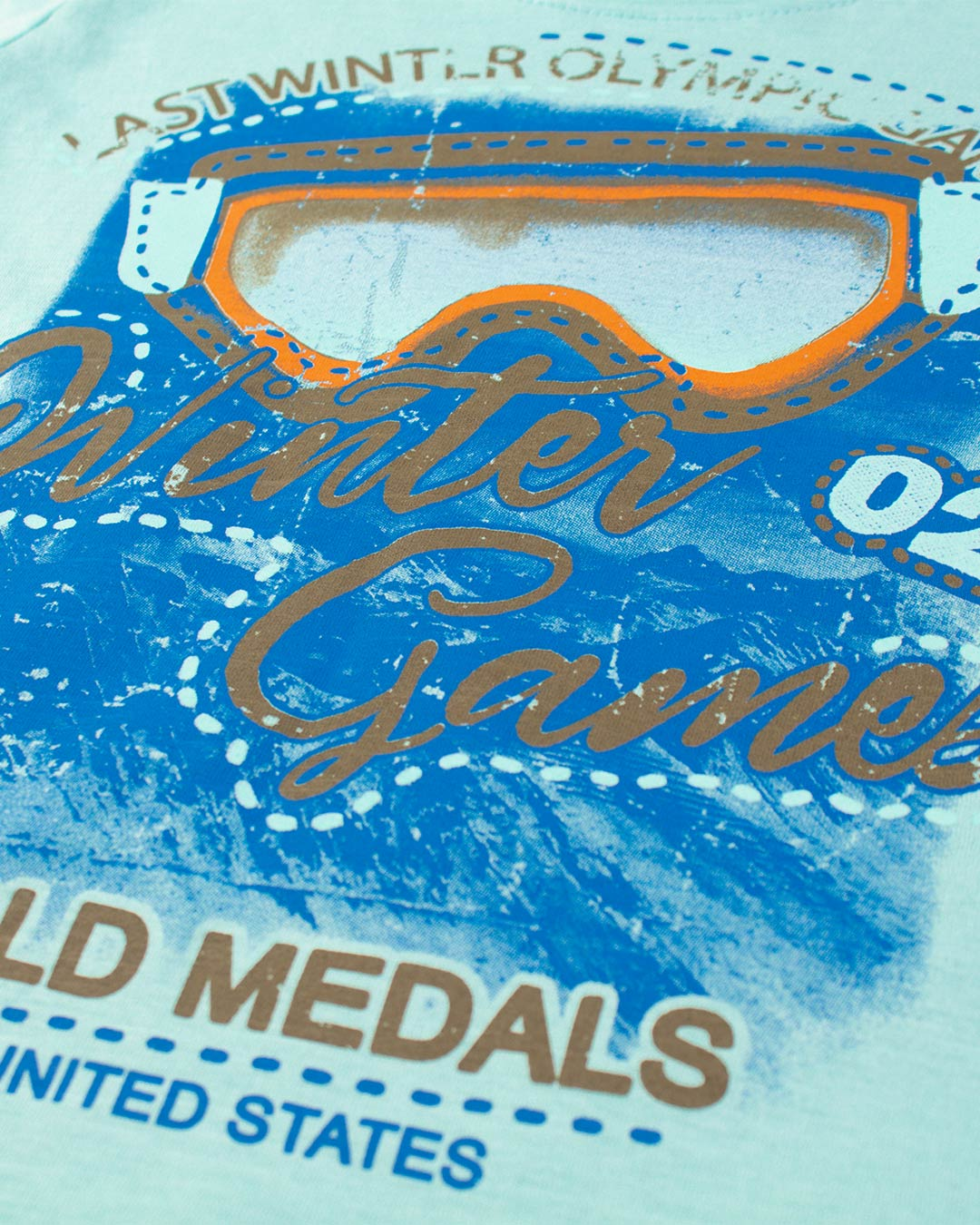 Conjunto Infantil Winter Games Verde - Cara Metade