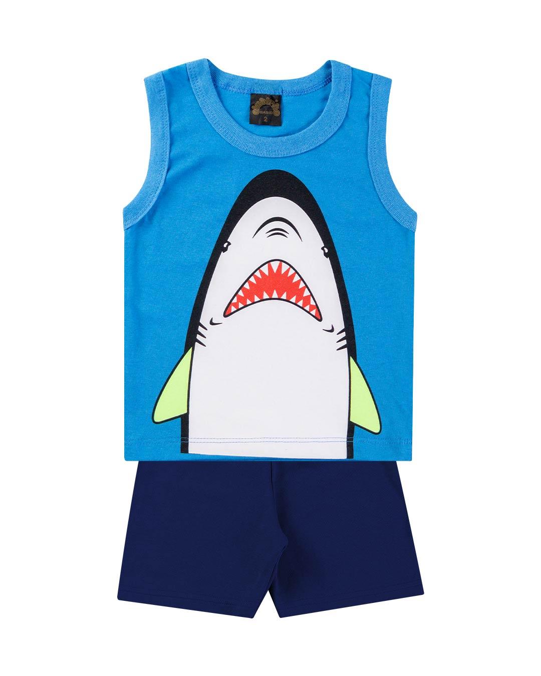 Conjunto Regata Shark - Clubinho