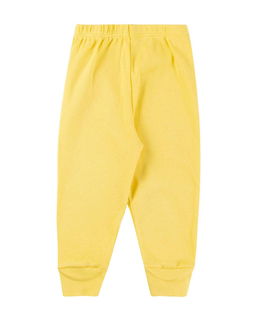 Kit 3 Mijões Básicos Amarelo - Sorriso Kids