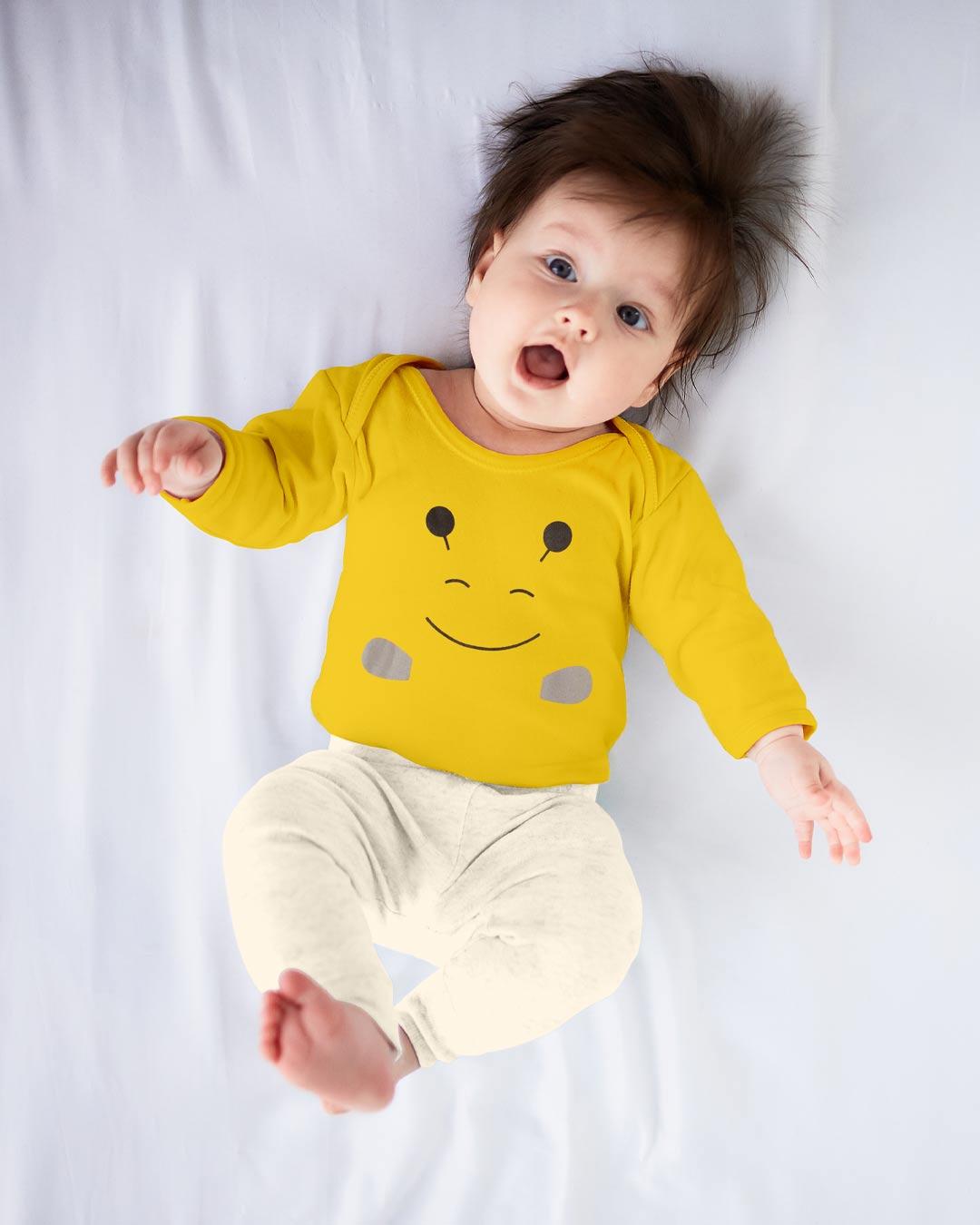 Kit Body 3 Peças Abelhinha Amarela - Sorriso Kids