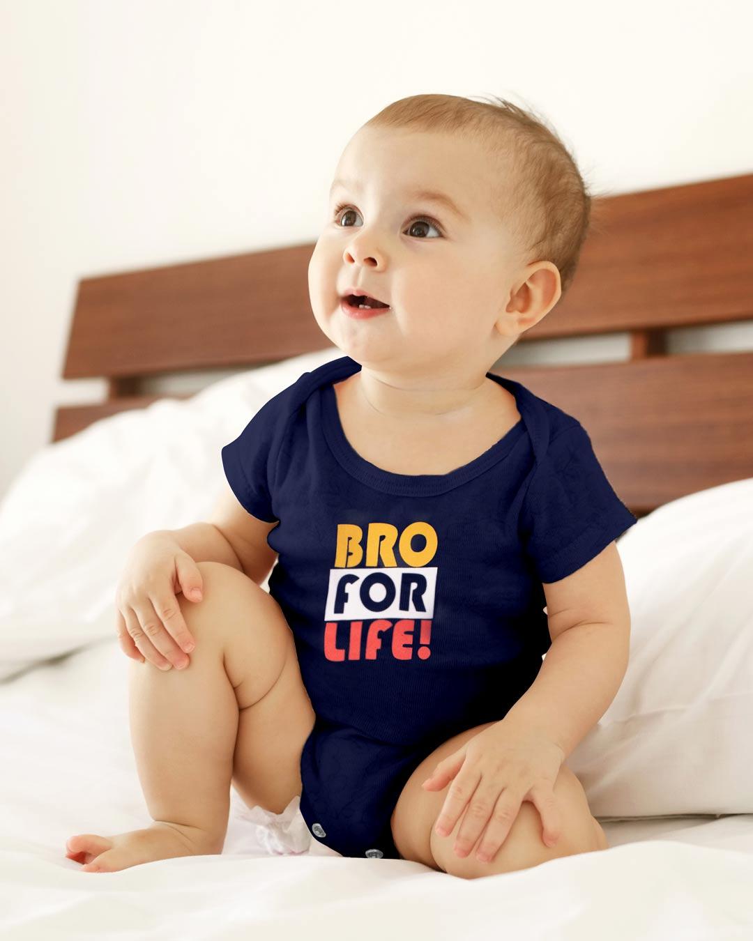 Kit Body 3 Peças Bro For Life Marinho - Sorriso Kids