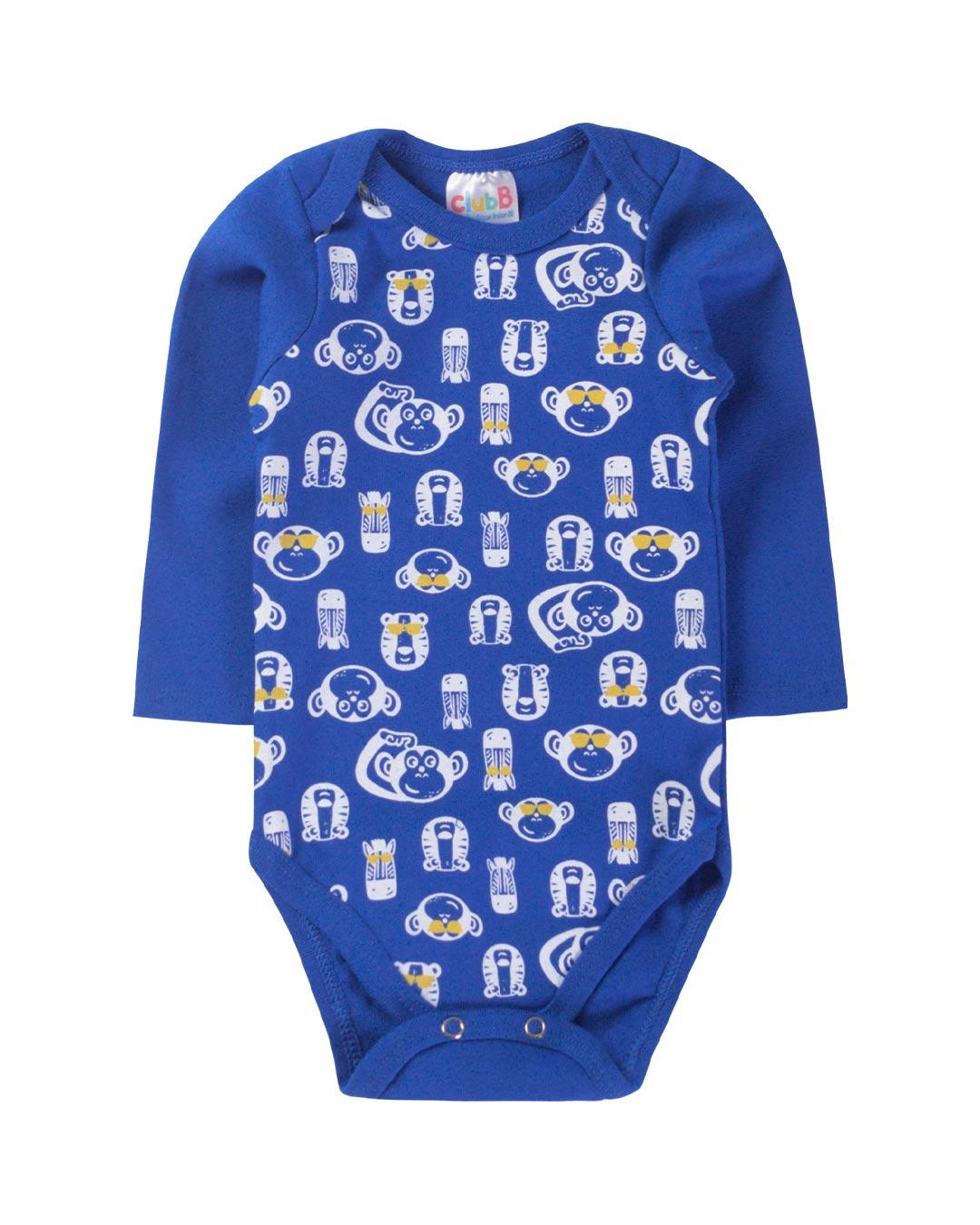 Kit Body 3 Peças Cool Kids Azul - Sorriso Kids