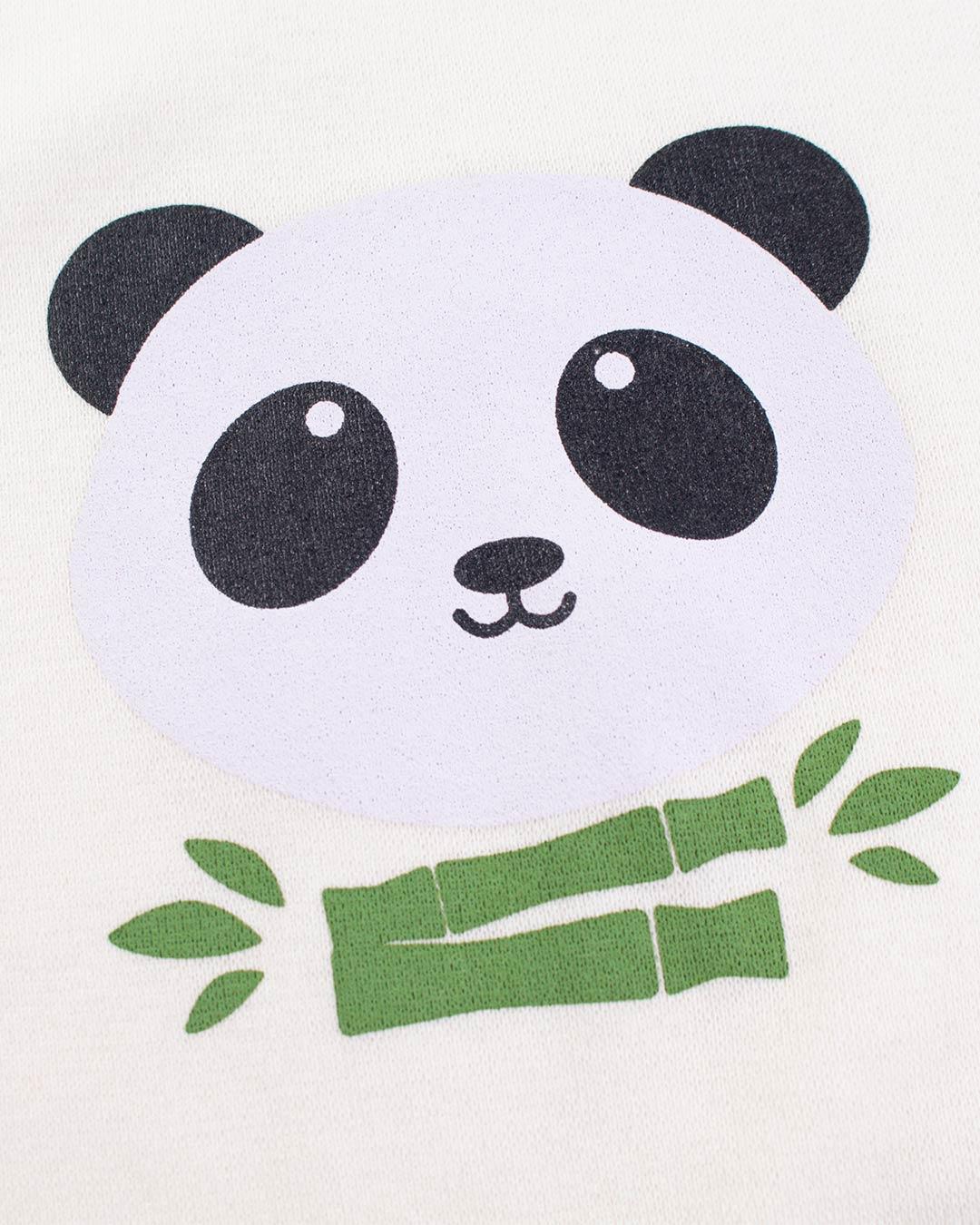 Kit Body 3 Peças Panda Verde - Sorriso Kids