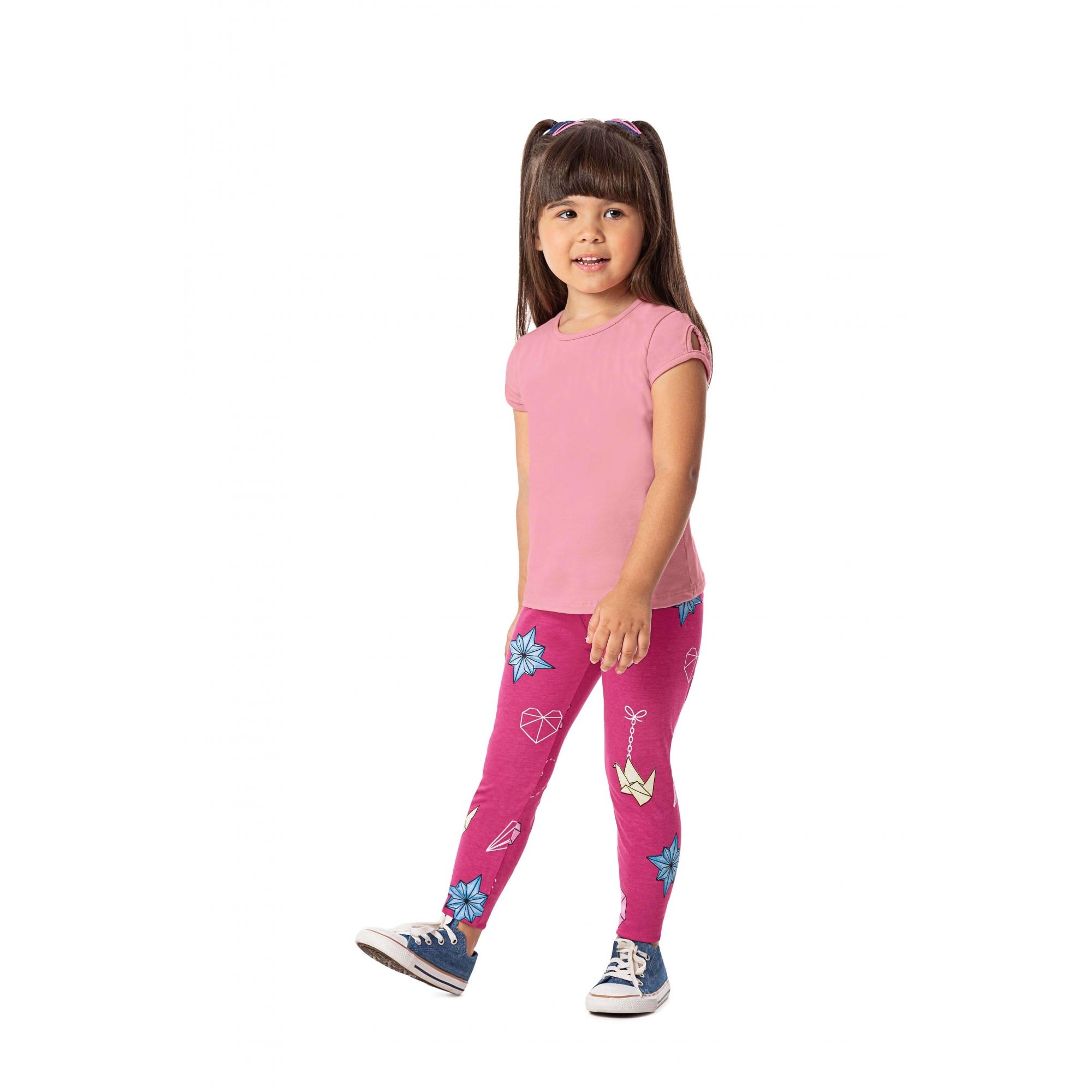 Legging Infantil Estampa Variada - Alenice